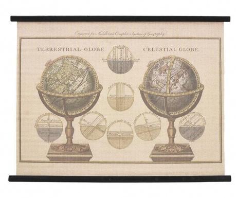 Nástěnná dekorace Terrestrial