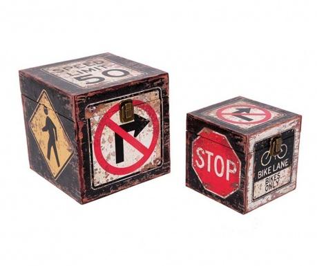 Комплект 2 кутии с капак Trafico