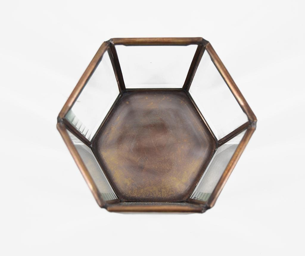 Bisel Hexagonal Gyertyatartó