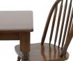 Set miza in 4 stoli Fine Dark Brown