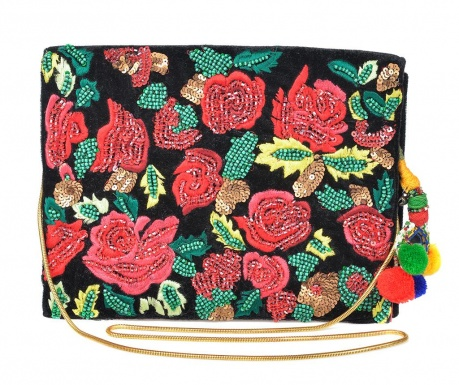 Envelope bag Red Flowers