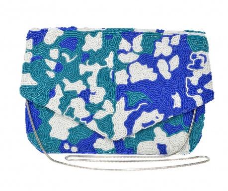 Listová kabelka Sierra Blue and Green