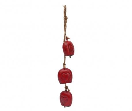 Závěsná dekorace Heart Bells