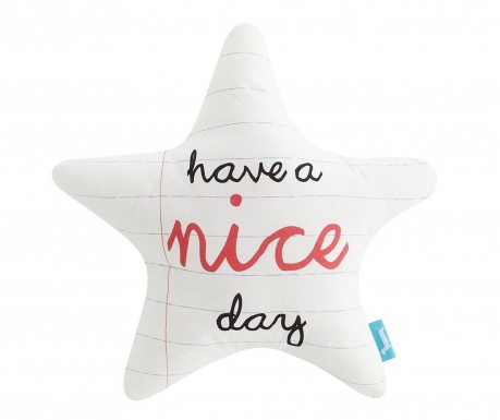 Poduszka dekoracyjna Nice Day Estrella 40x40 cm
