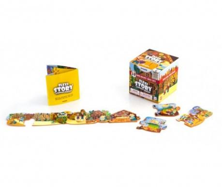 Joc tip puzzle 7 piese Hansel & Gretel
