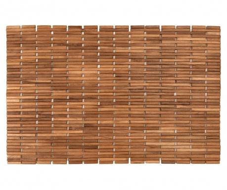 Dywanik łazienkowy z drewna Cher Natural 45x70 cm