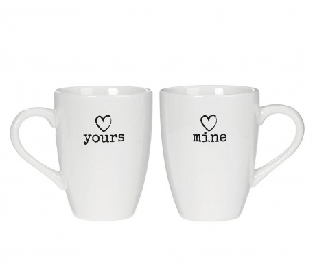 Set of 2 mugs Charm 350 ml