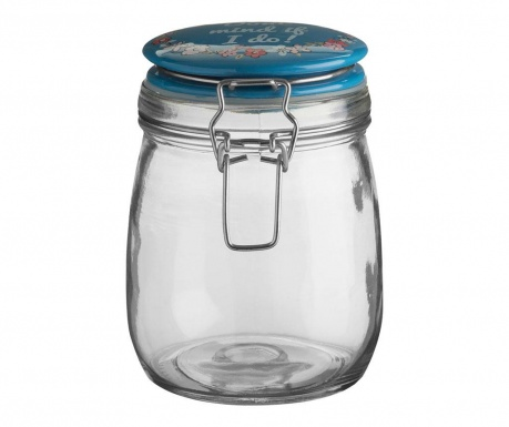 Airtight jar Pretty Things 750 ml