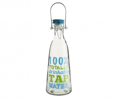 Bottle with cap Totally Drinkable 1 L