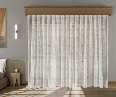 Curtain Janine Orange 200x260 cm