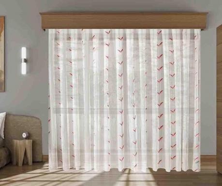 Záclona Makana Coral 200x260 cm