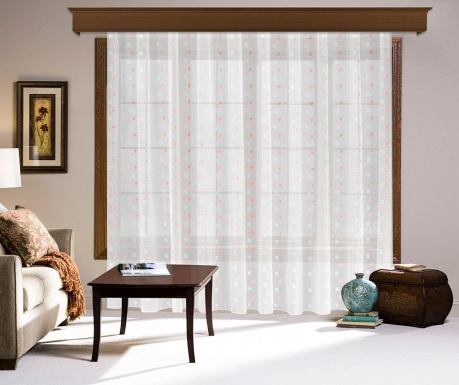 Záclona Mazie Pink 200x260 cm