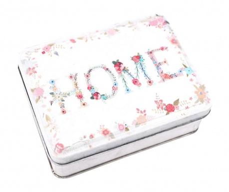 Krabica s vekom Home Floral