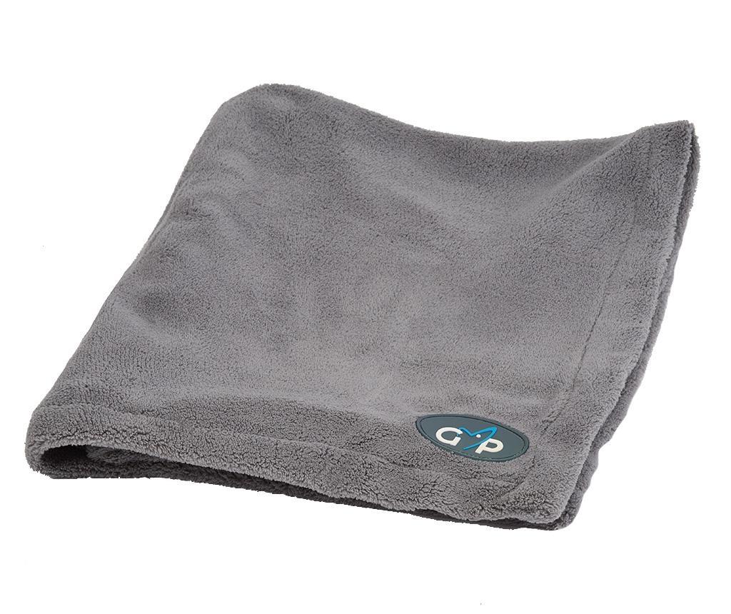 Patura pentru animale de companie Blanka Grey 100x150 cm