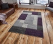 Koberec Matrix Grey and Lilac 120x170 cm