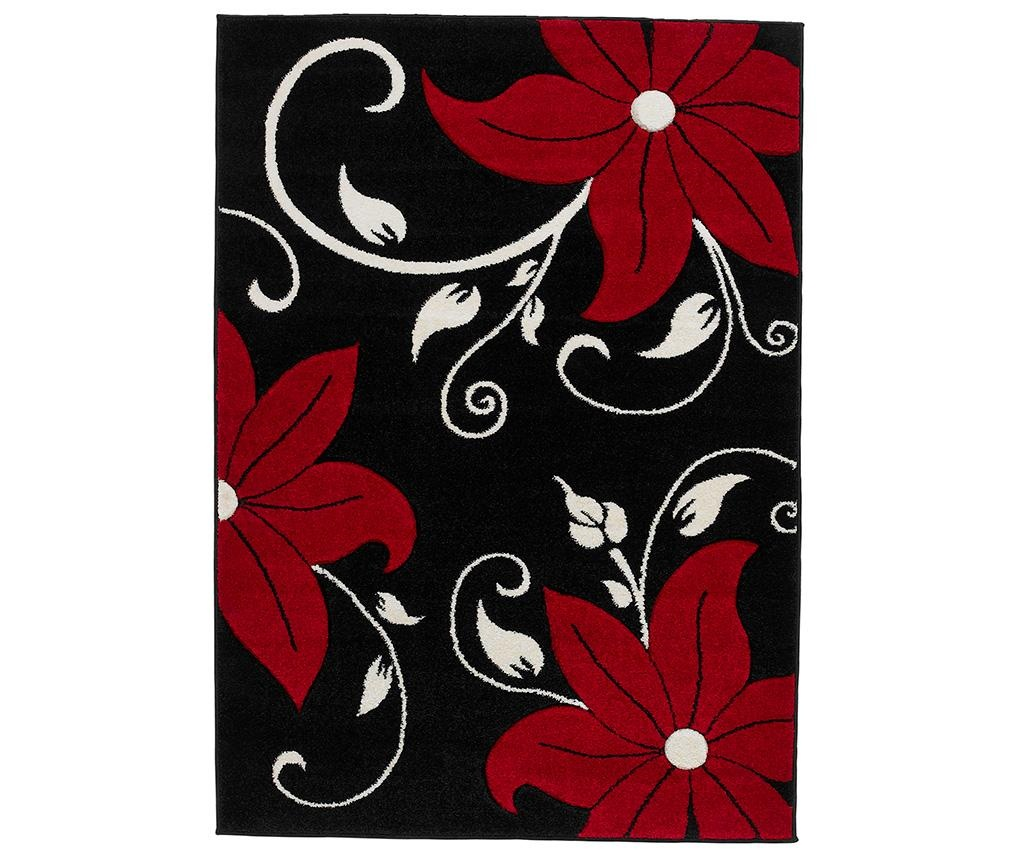 Koberec Verona Black and Red 60x225 cm