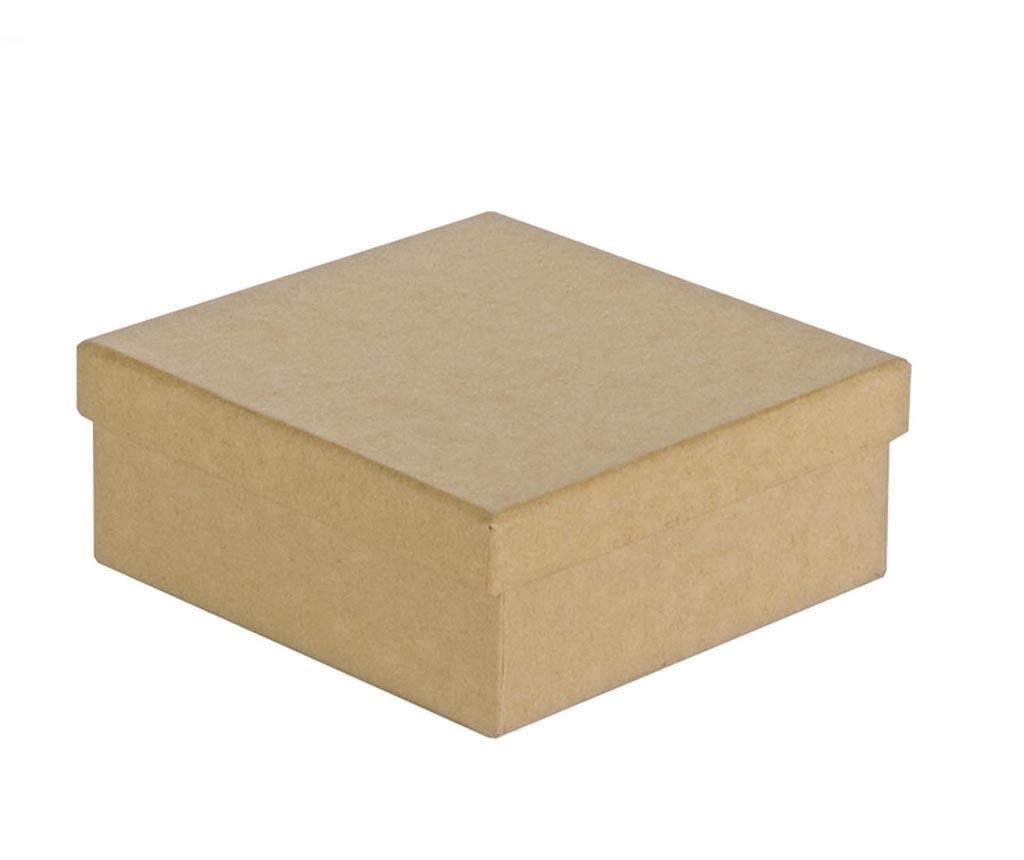 Set 4 cutii cu capac pentru pictat Avana