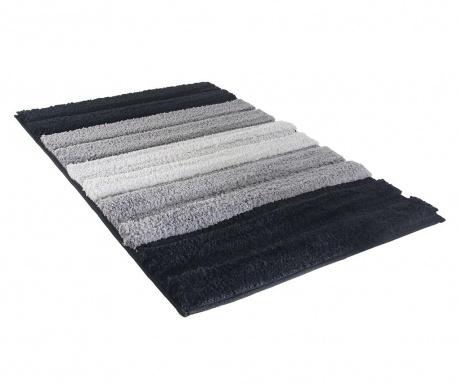 Predložka do kúpeľne Stripes Black 50x70 cm