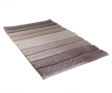 Covoras de baie Stripes Brown 50x70 cm