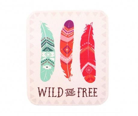 Wild and Free Hűtőmágnes