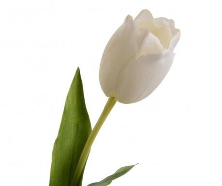 Umelý kvet Tulip Elegance White