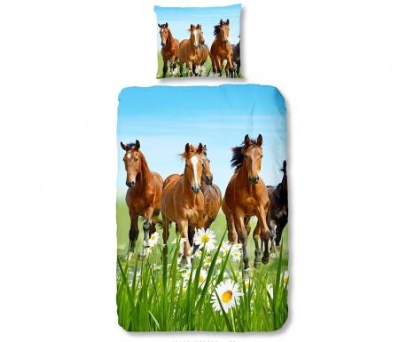 Спален комплект Single Ranforce Horses & Field