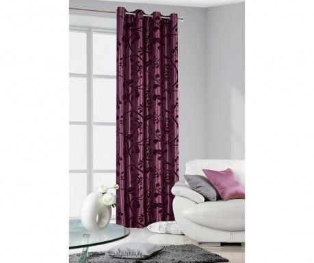 Κουρτίνα Amber Purple 140x250 cm