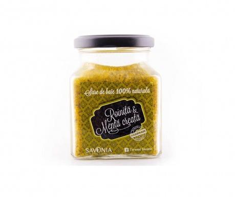 Koupelová sůl s meduňkou a mátou Savonia 250 g