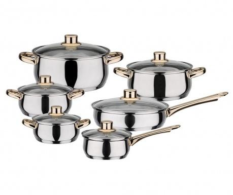 Комплект готварски съдове 12 части Onkies
