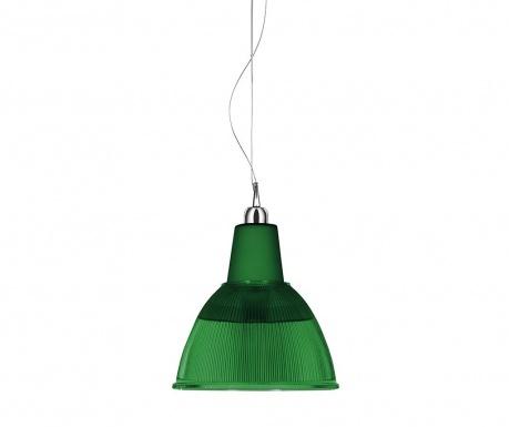 Závěsná lampa Carioca Dark Green