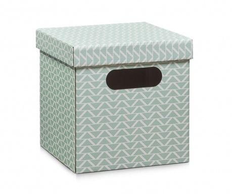 Skladovacia krabica s vrchnákom Height Mint