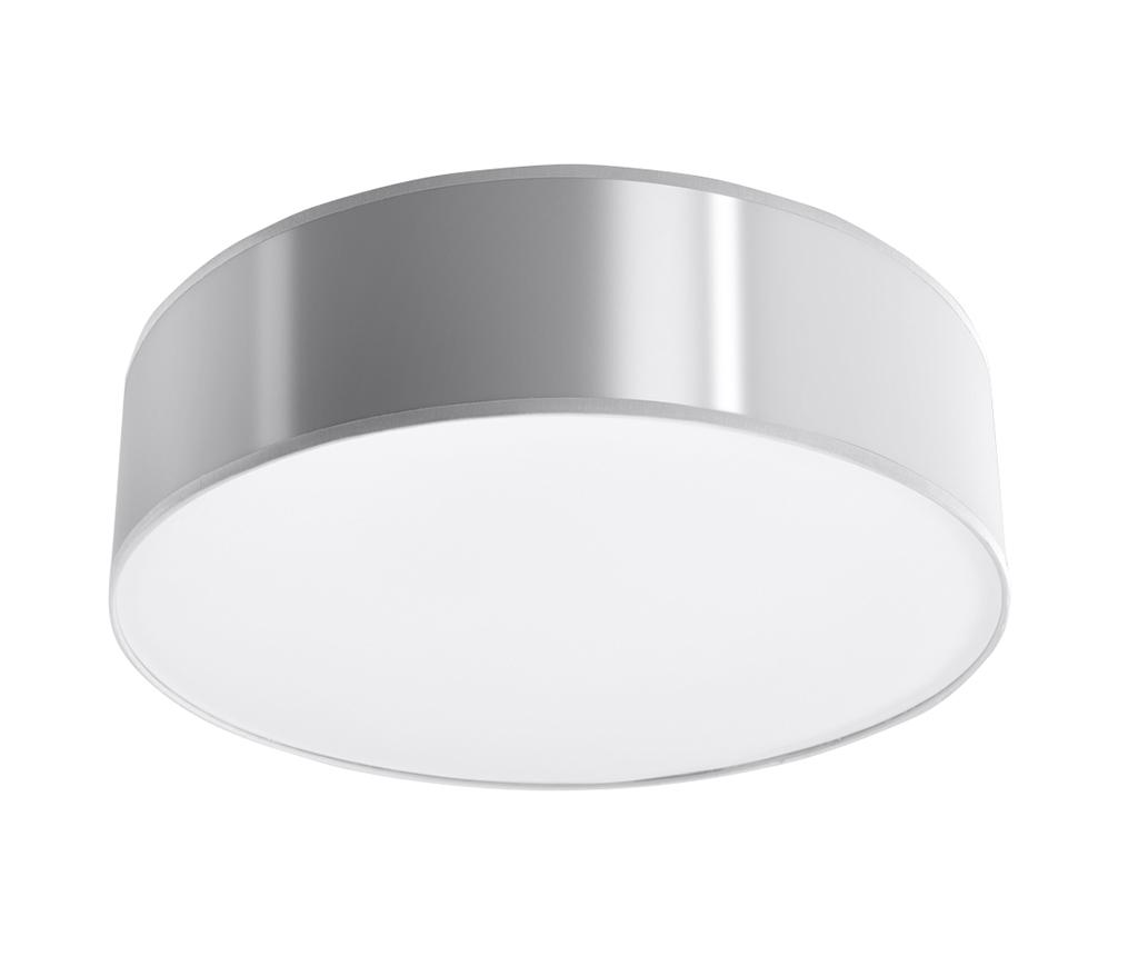 Plafoniera Atis Silver Grey - Nice Lamps, Gri & Argintiu