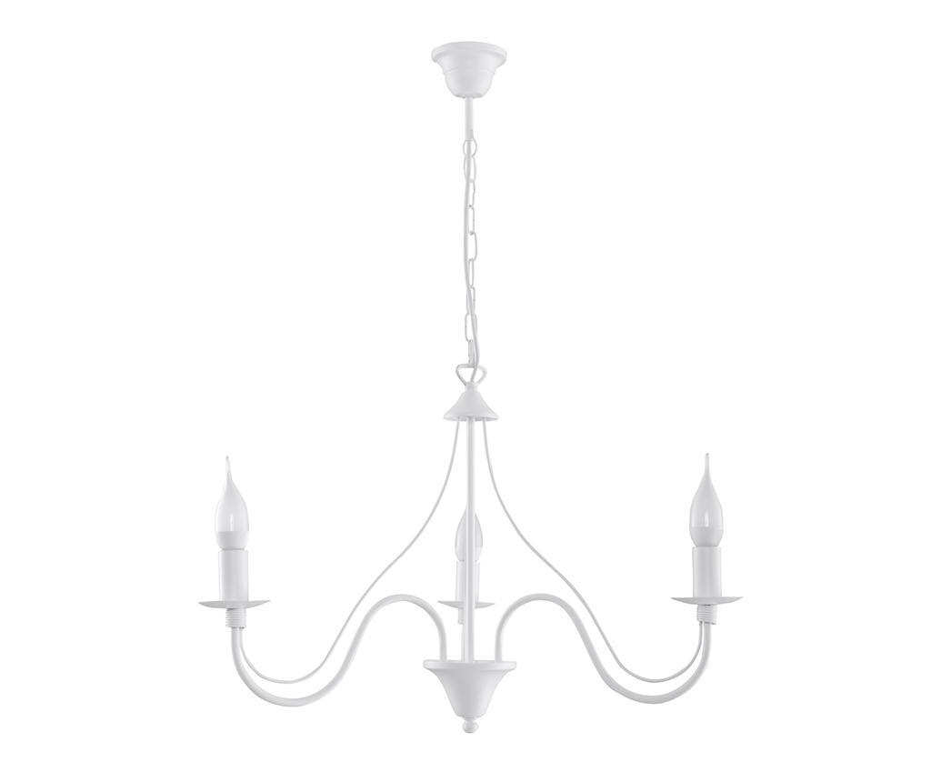 Candelabru Fiorano Three White - Nice Lamps, Alb