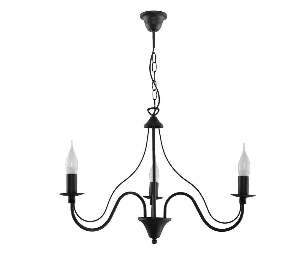 Candelabru Fiorano Three Black - Nice Lamps, Negru