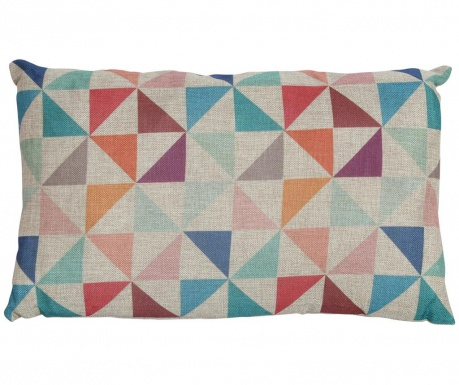 Perna decorativa Retro Multicolor 30x50 cm