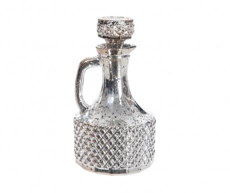 Sticla decorativa cu dop Silver