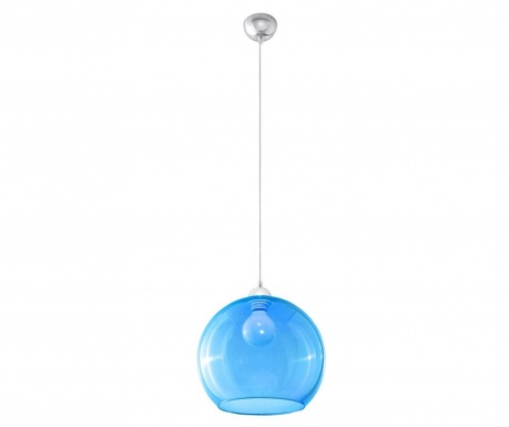 Závěsná lampa Bilbao Blue
