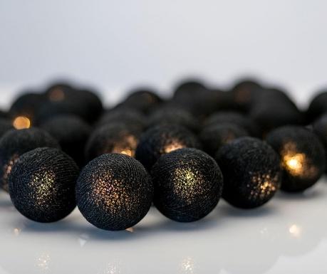 Ghirlanda luminoasa All Black