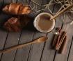 Set 2 žlički za kavo z mlekom Lergo