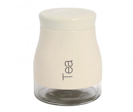 Recipient cu capac pentru ceai Reddya Cream 700 ml