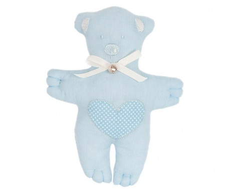 Плюшена играчка Teddybear Heart Blue