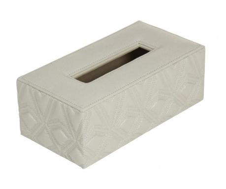 Кутия за салфетки Triangles Grey