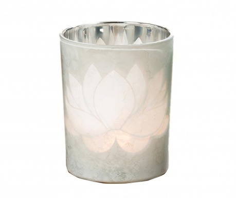 Podstavec na svíčku Lotus Grey
