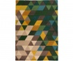 Koberec Prism Green 80x150 cm