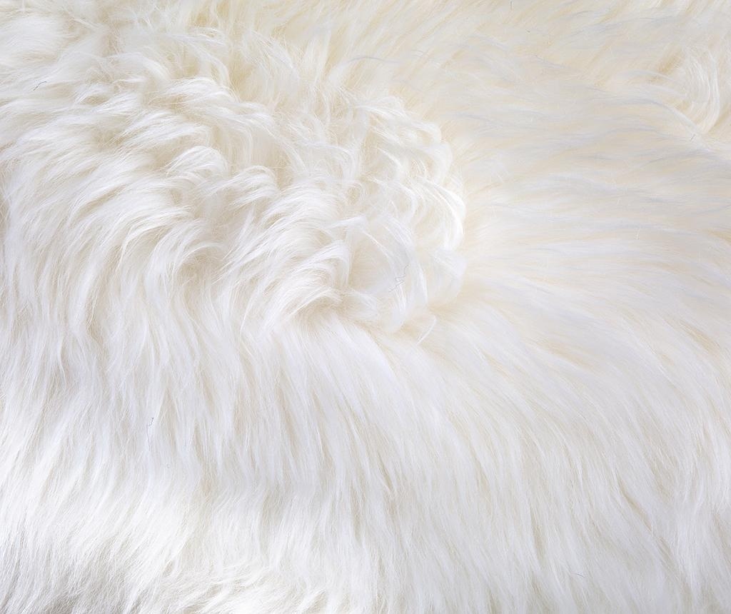 Covor Mouton White 80x110 cm