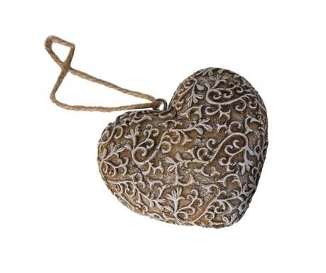 Viseča dekoracija Ribs Heart