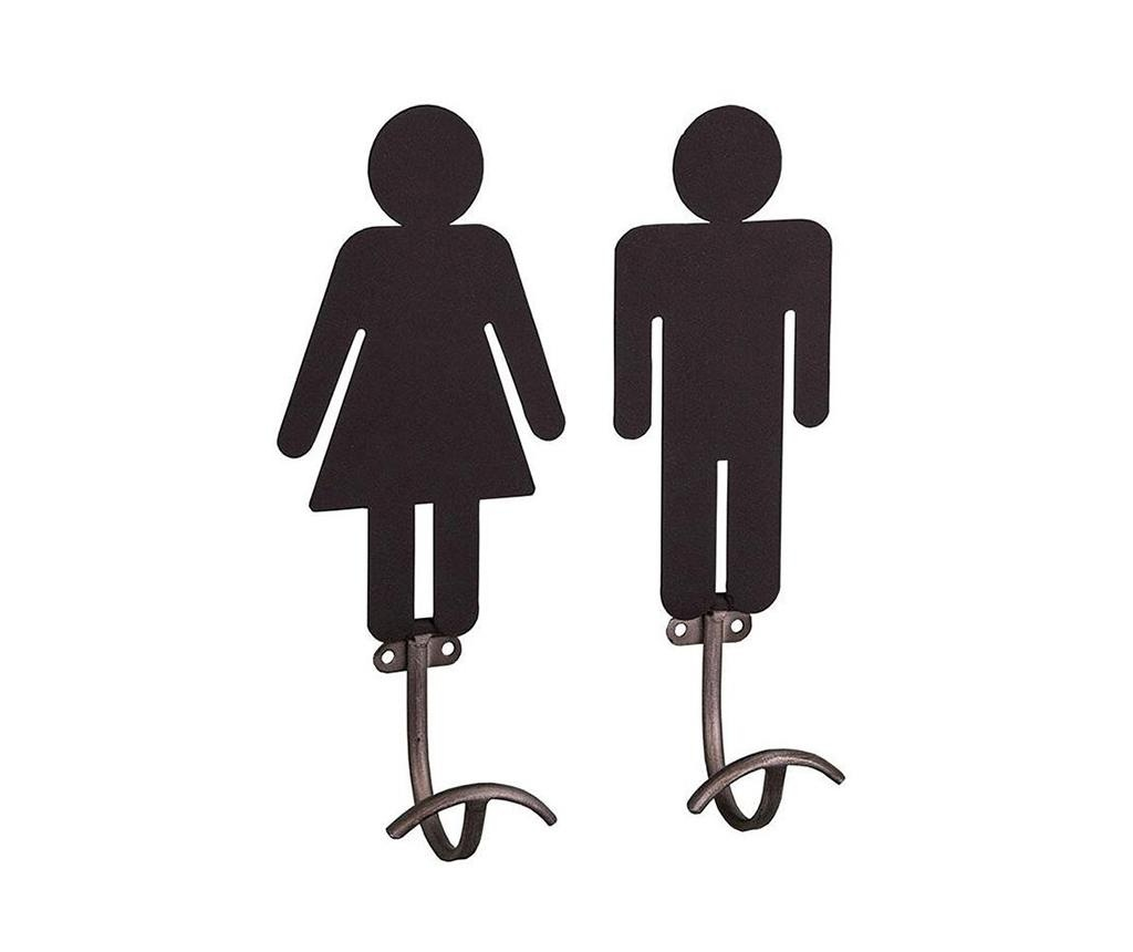Man and Woman 2 db Fogas