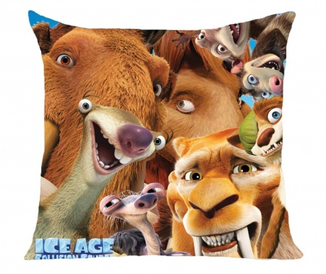 Ice Age Close-Up Díszpárna 40x40 cm