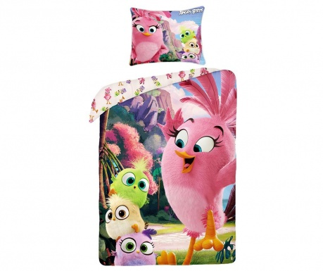 Posteljina Single Ranforce Angry Birds Cute