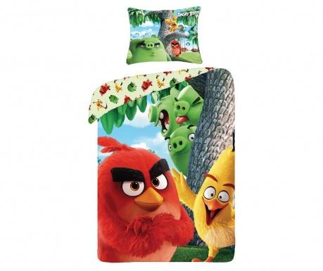 Angry Birds Movie Egyszemélyes Ranforce Ágynemű